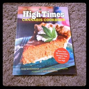 Perfect condition High Times cookbook! NWT